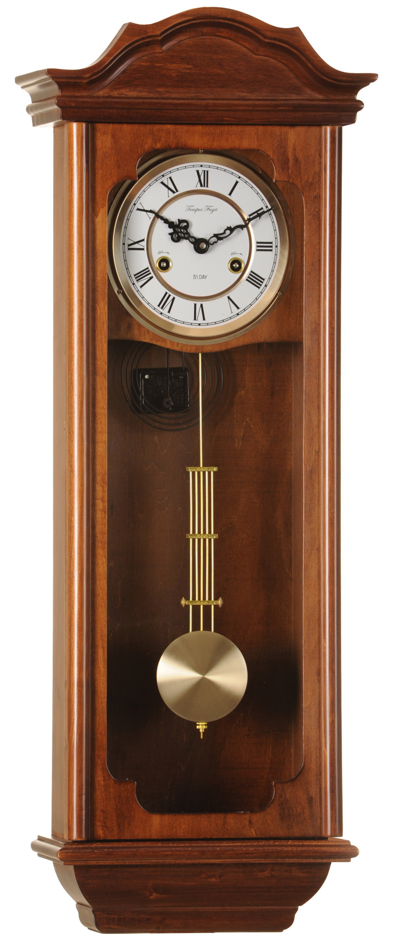 BP-20102 Tempus Fugit orologio a pendolo da parete in legno con ...