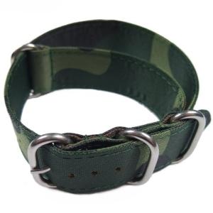 Cinturino mimetico in tessuto NATO per orologi militari