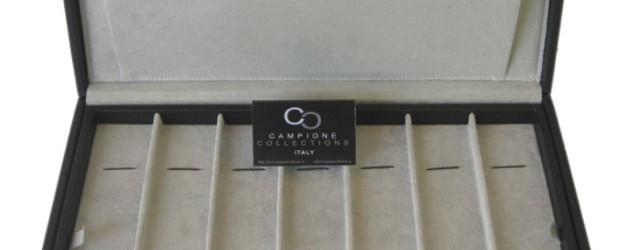 Scatola Porta Orologi Campione Collections Linea Galles