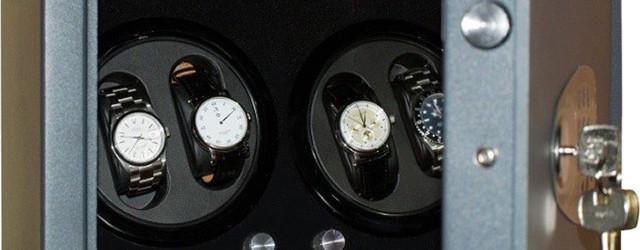 Cassaforte carica orologi automatici