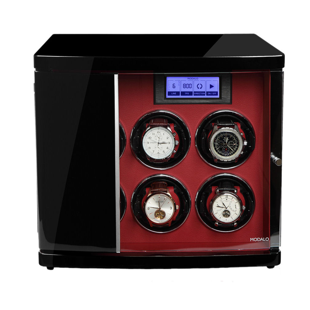 Watch Winder Timeless 6 Red